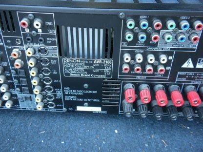 DENON AVR 2106 120 WATT RECEIVER 264263506303 5