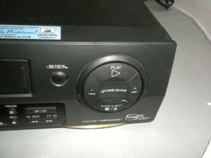JVC HR DD750U VHS Hi Fi VCR Player Recorder Works Great 273925364901 4