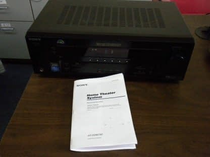 Sony STR K750P Compact Home Theatre Receiver Works Great 5 Channel 100W 264594046346 4