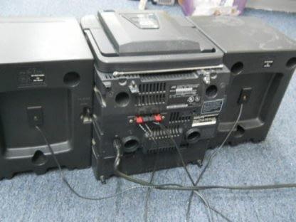 Vintage Boombox Portable CD Player Cassette player Radio JVC X101BK 264580448050 2
