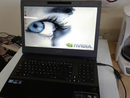 ASUS G74s GAMING LAPTOP i7 GTX Nvidia 16GB 2x 750GB Works Great Bright Screen 274437709139 3