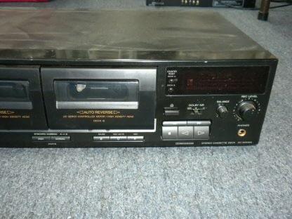 Vintage Audiophile Sony TC WR465 Dual Cassette Tape Deck working 264277759752 2