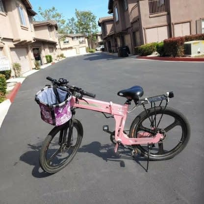Bicycle Front Basket Removable Waterproof Bike Handlebar Basket Pet Carrier Fast 264768291585 6