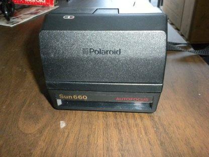 Polaroid Land Camera Sun 660 Instant Autofocus With Flash Box Manual 273468804375 2