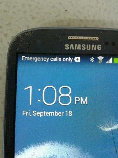 Samsung Galaxy S III SGH I747 16GB Pebble Blue ATT Cricket Android READ 264869995629 3