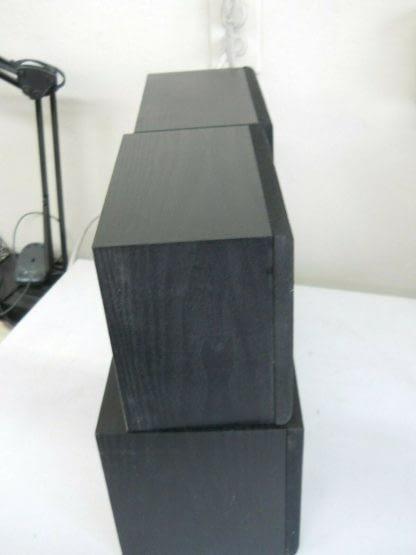 Vintage Fisher Surround sound satellite speakers 3 pcs 274417369509 11