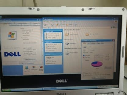 Vintage Dell XPS M140 PP19L Laptop WinXP Outlook Express Word Runs Great 274543315343 4