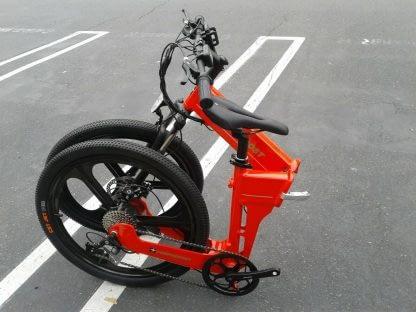 Folding Electric ebike Bike Commute City Road and Off Road Men Women 60mi Range 264298338536 3