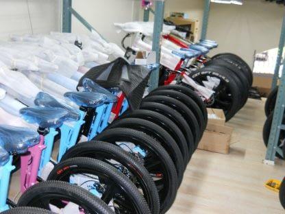 Fat Tire Folding Electric bike Ebike Full Suspension Big Tall Men Sand Snow 264297077395 2