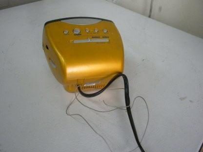 SONY Dream Machine ICF C111 Alarm Clock Nice condition Yellow 264541113739 4