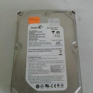 Seagate 500GB ST3500630A ATA133 PATAIDE 35 Desktop HDD Hard Drive 274539637161
