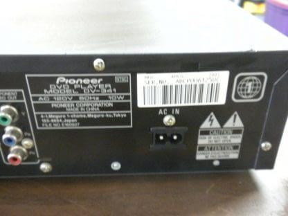 Pioneer VXX2702 DVD Player DV 341 DVD player with remote 264580448042 5