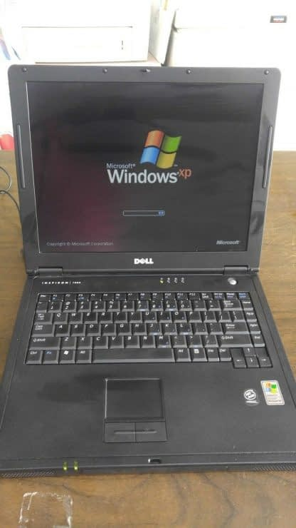 Vintage Laptop Dell Inspiron 1000 Win XP Outlook Express Wordperfect Office Work 264607168591 2