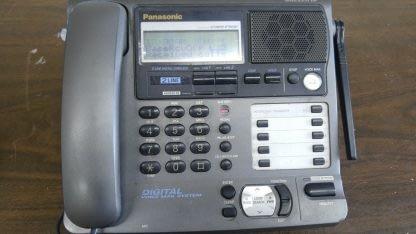 Panasonic KX TG2000B 24 GHz 2 Lines Corded Phone Base Station Good con 273506059217 6