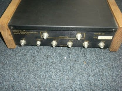Vintage Electronics Video Commander model 26 home video system 273747967393