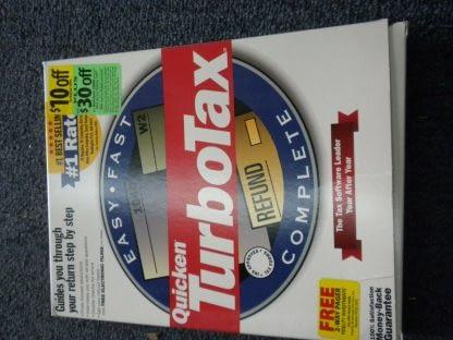 Intuit TurboTax 1999 Federal Return with Box Windows 264349538368 5