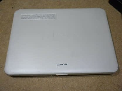 Vintage Sony Vaio Pcg 7153L Vista laptop White Nice condition Works Great 274241977833 10