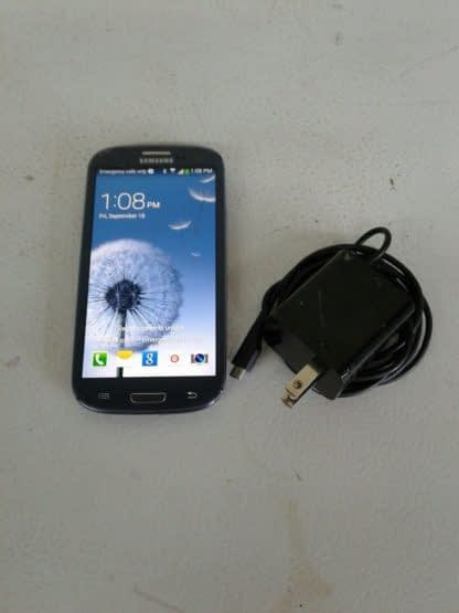 Samsung Galaxy S III SGH I747 16GB Pebble Blue ATT Cricket Android READ 264869995629