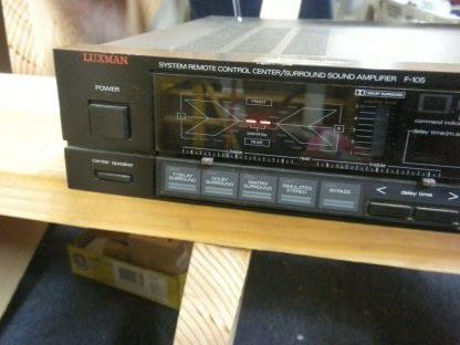 Vintage Luxman F 105 Stereo Surround Amplifier All original works great 274223911583 3