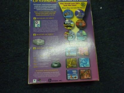 Vintage CD STOMPER PRO CD LABELING SYSTEM Win 95 98 31 NT 264352239627 8