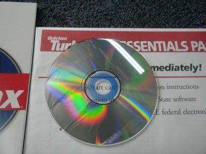 Intuit TurboTax 1999 Federal Return with Box Windows 264349538368 6