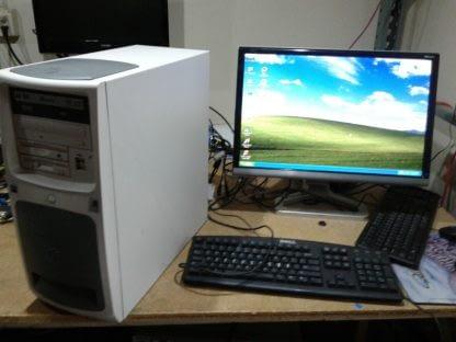 Vintage Gateway Select 1100 desktop PC Win XP Works GREAT 264845908953