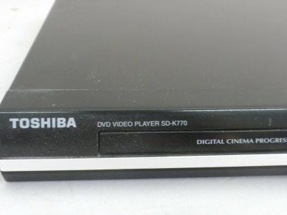 Toshiba SD K770KU Home Theatre DVD Player Cinema Progressive Works great 273893810259 2