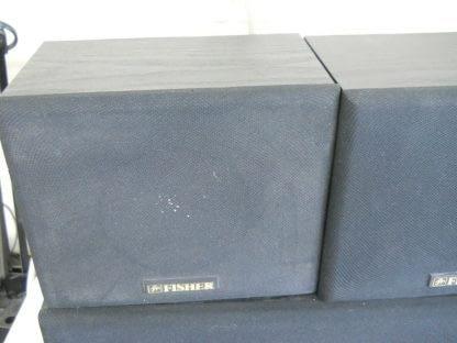 Vintage Fisher Surround sound satellite speakers 3 pcs 274417369509 9