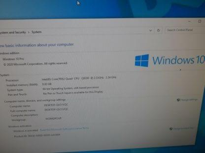 Dell Studio 540 Desktop Windows 10 Pro Works Great 274428035354 2