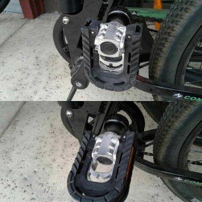 Folding Electric Mountain Bike ebike Men Women Full Suspension 264297090909 12