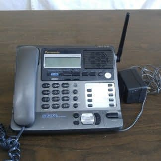 Panasonic KX TG2000B 24 GHz 2 Lines Corded Phone Base Station Good con 273506059217