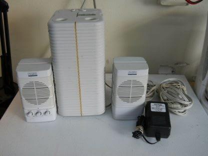 Classic Vintage ALTEC LANSING MULTIMEDIA PC Subwoofer Speakers Complete 274369652660