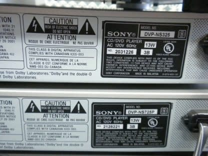 lot of 8 DVD players work great Sony Toshiba Philip KLH 264580448043 5