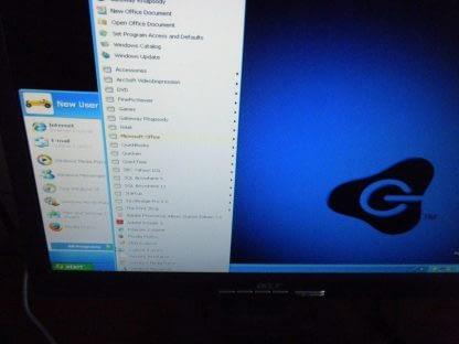 Vintage Gateway MFATXNIN DAS 300S Slim Desktop Win XP Works Great All Original 274147837124 4
