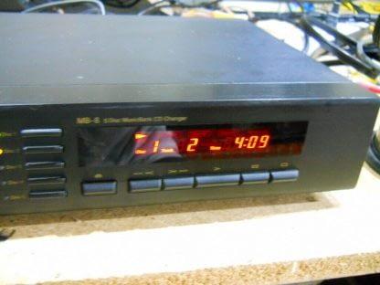 Vintage Rare Nakamichi MB 8 CD Player 5 disc Musicbank Changer 264714732727 2