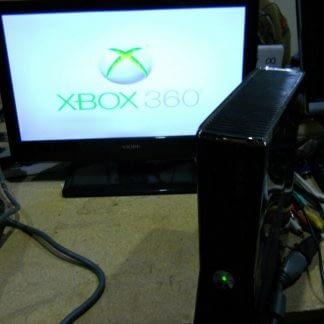 Microsoft Xbox 360 S Console Black 274365132541