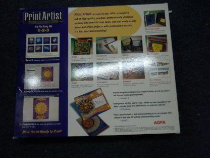 Print Artist Gold Edition PC MAC CD Windows 95 Macintosh New Sealed 264352166562 3