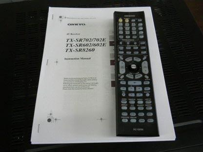 Onkyo TX SR602 71 Channel 85w x7 600W Home Theater AV Receiver Works Great 264594046348 6