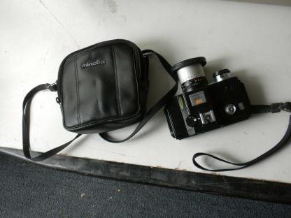 Vintage Minolta110 ZOOM SLR CAMERA With Case 273944048830 11