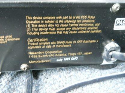 Vintage Rare Nakamichi MB 8 CD Player 5 disc Musicbank Changer 264714732727 9