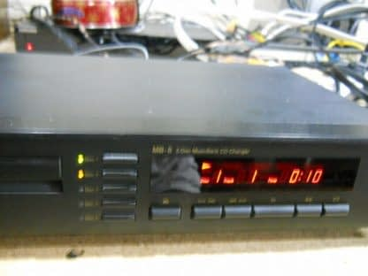 Vintage Rare Nakamichi MB 8 CD Player 5 disc Musicbank Changer 264714732727 3