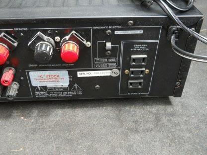 Vintage Yamaha AX 592 Natural Sound Stereo Amplifier 274405537527 5