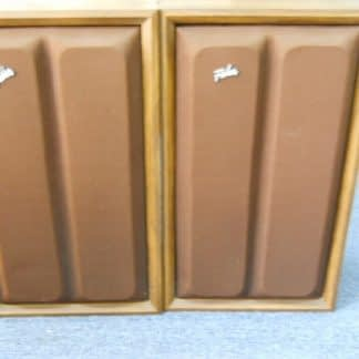 Vintage Fisher model XP57 Air Suspension Speaker Pair 264716955397
