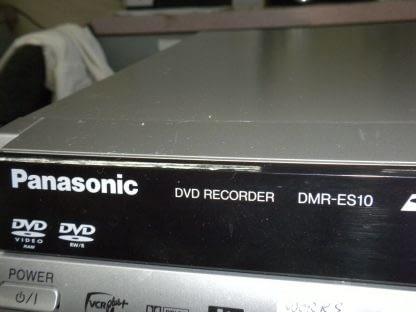 Panasonic DMR ES10S DIGA Series DVD Recorder 264570274159 3