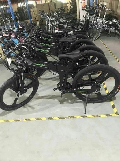 Folding Electric Mountain Bike ebike Men Women Full Suspension 264297090909 8
