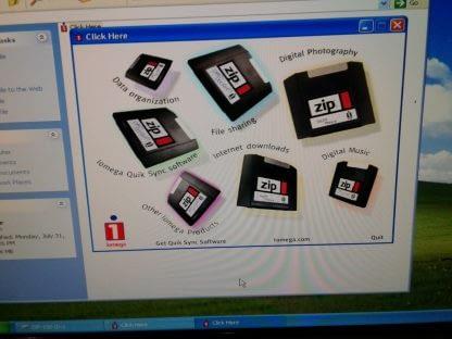 Vintage Gateway Select 1100 desktop PC Win XP Works GREAT 264845908953 8
