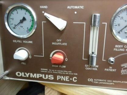 Olympus PNE C Automatic Gas Insufflator for Laparoscopy 264369081760 3