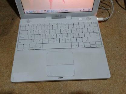 Apple iBook 121 Laptop Power pc G4 133Ghz 512MB 40GB Wifi 10411 works 274669527308 3