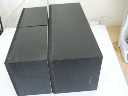 Vintage Fisher Surround sound satellite speakers 3 pcs 274417369509 4