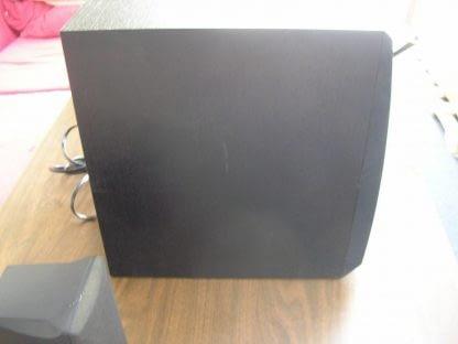 Yamaha YST SW005 Subwoofer System 55 watts amplifier output Active Servo tech 264580448069 5
